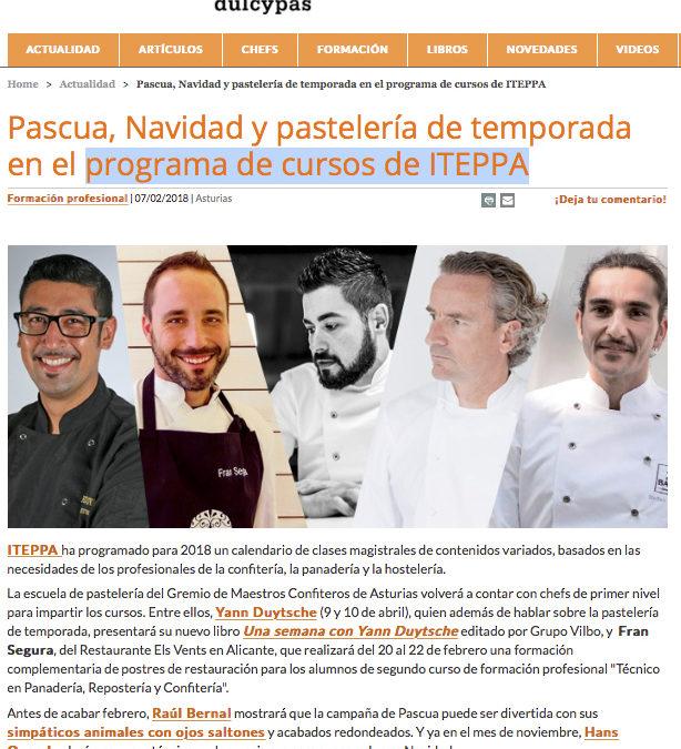 Fran Segura en el nuevo programa de cursos de ITEPPA